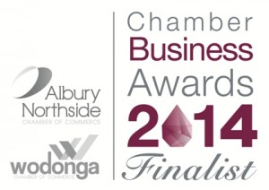 Chamber of Commerce Business Award Finalist 2014